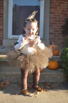 My little Indian Princess in Costume! Tutu, headband, moccasins, fringe cuffs & shirt, toddler costume