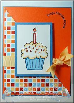Happy Birthday Card- I love the colours!