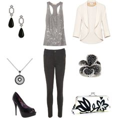 Black and silver - GNO on the Plaza! @Amy Lyons Bretz