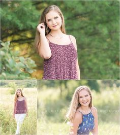 A beautiful, simple senior session in nature. Photographed by Cumberland Valley High School senior photographer Tina Jay Photography.