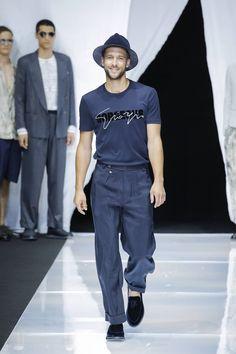 211b4e0d9a03a Giorgio Armani Spring Summer 2019 Menswear