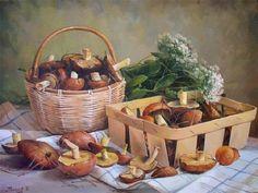 ✿Basket fruits & Vegetables✿ mushroom