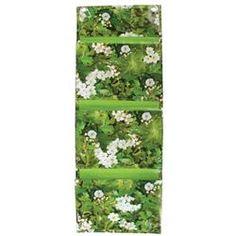 Vertical Pocket Planter - Esschert Design Esschert Design, Growing Herbs, Floral Tie, Pocket, Number 3, Indoor Gardening, Garden Ideas, Flooring, Balcony