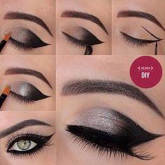 Negro y gris, hermosa combinación!!!