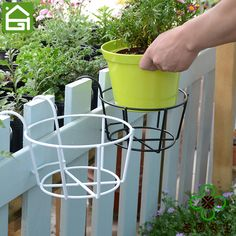 Balcony Flowers, Balcony Plants, House Plants Decor, Plant Decor, Metal Plant Stand, Diy Plant Stand, Plants For Hanging Baskets, Hanging Planters, Apartment Balcony Garden