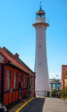 Lighthouse Bornholm, Denmark