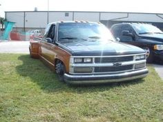 Bagged Trucks, Dually Trucks, Gm Trucks, Chevy Trucks, Silverado 3500, Low Life, Classic Trucks, Slammed, Chevrolet
