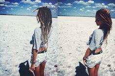 beach dreadlocks