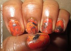 Trick or Treat! Halloween Mani
