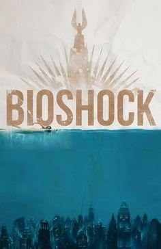 Some Bioshock art from Reddit user ComTruisentheUSA #Bioshock #Infinite #Gaming #Art