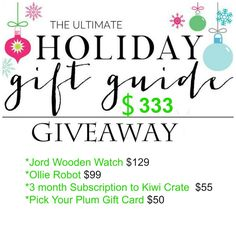 Ultimate Holiday Gift Guide for Tween Boys and Giveaway
