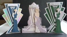 Art Deco amnd Glitz and Glam die sets
