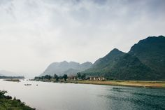 View on the Phong Nha national park