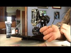 Cleaning a Singer Featherweight 221 - YouTube