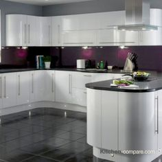 Best 9 Best Contemporary White Gloss Kitchens Images White 640 x 480