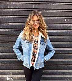 #JAQUETA #jeans #trend #outono #inverno #winter2017 #autumn2017 #marfimbh