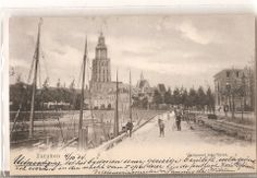 Vischpoort met Haven Zutphen, 5 okt. 1904 Painting, Painting Art, Paintings