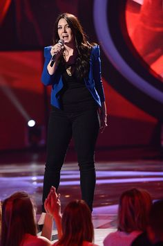 Kree Harrison performs a victory song on American Idol. (FOX Photo)