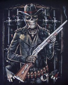 Skeleton Sheriff