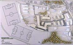 Modell Immobilienprojekt Roth (MIttelfranken) Baumgartenwiesen