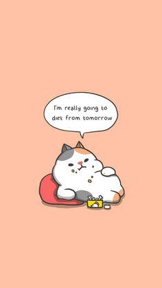 Best Ideas For Cute Cars Pictures Cartoon Chibi Cat, Cute Chibi, Hello Kitty Wallpaper, Kawaii Wallpaper, Iphone Wallpaper, Kawaii Doodles, Cute Doodles, Cute Fall Wallpaper, Cute Bear Drawings