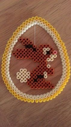 10 Osterideen mit Hama-Perlen (Brombeeren) 10 Easter Ideas with Hama Beads (Blackberries) Perler Bead Designs, Perler Bead Templates, Hama Beads Design, Pearler Bead Patterns, Perler Bead Art, Perler Patterns, Hama Perler, Bead Crafts, Diy And Crafts