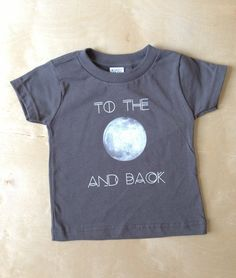 √ Image of To The Moon and Back Tee $20 thestripedfig