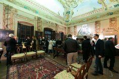 Reception at Palazzo Lana, Berlucchi Wineries, Franciacorta. #BerlucchiMood