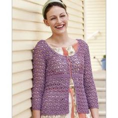 1000+ images about Crocheted Jackets on Pinterest ...