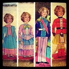Shirley Temple Paper Dolls