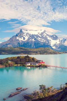 Torres del Paine National Park. Chile.