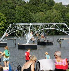 Kronenburger See - Wasserseilgarten - Spielplatz - Wandern - Kronenburg (NRW)