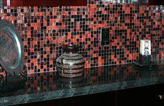 wet bar backsplash tile