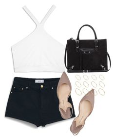 """Untitled #254"" by amalie0 ❤ liked on Polyvore featuring Helmut Lang, MANGO, Paul Andrew, Balenciaga and ASOS"