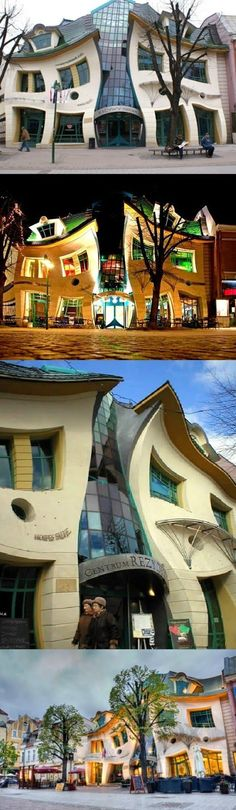 The Crooked House - Sopot, Poland.... Most strange buildings across the world