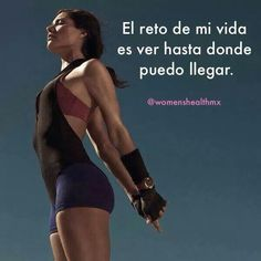 Mi mayor reto Life Motivation, Weight Loss Motivation, Fitness Nutrition, Fitness Goals, Gym Frases, Gym Quote, Gym Memes, Good Habits, Gym Rat