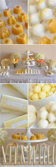 Sweets - use popcorn, kettle corn, cookie sticks, salted or spiced almonds, & create custom candy wrappers