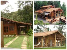 casas madeira pré-moldada