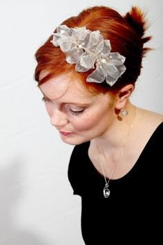 Bridal Headpiece by Sheila Kerr Bridal Headpieces, Jewellery, Band, Accessories, Fashion, Moda, Jewels, Sash, Fashion Styles