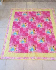 disney+princess+paper+piecing+quilt | Disney Princesses | Recipes ... : disney princess quilt - Adamdwight.com