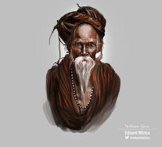 Indian Guru | Sketch