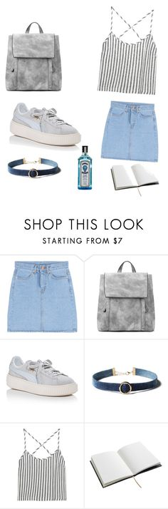 """""""Untitled #138"""" by arlem-cruz ❤ liked on Polyvore featuring Puma, WithChic, Kain and House of Hackney"""