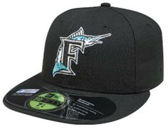 MLB Florida Marlins Authentic On Field Game 59FIFTY Cap by New Era. $16.99. Embroidered Team logo with American flag background outlined in white. Cool Base technology wicks moisture away from the head. Officially licensed by Major League Baseball. 100% Polyester fitted Authentic Baseball Cap as worn by all players on the field. Made in the USA. wool. Amazon.com                The official on-field cap of Major League Baseball, New Era's 59FIFTY cap is the same one that i...