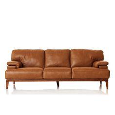 Napoli Large 3 Seater Leather Sofa Leather Sofa Luxury