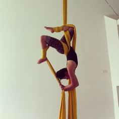Aerial silks: I want to learn how to do this!