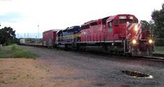 Train 473(ex CP 273) at 5th Street crossing over from the River Sub to the Davenport Sub. 7/28/13