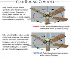 Buying a Ceiling Fan The Effective Pictures We Offer You About hunter Ceiling Fan A quality picture can tell you many things. You can find the most beautiful pictures that can be presented to you abou House Cleaning Tips, Diy Cleaning Products, Cleaning Hacks, Simple Life Hacks, Useful Life Hacks, Ceiling Fan Direction, Hunter Ceiling Fans, Home Fix, Home