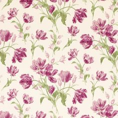 Gosford Meadow Berry Floral Wallpaper