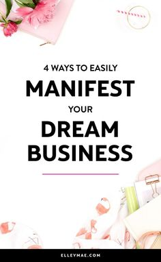If you're an aspiring female entrepreneur looking for the perfect chance to start a business you love than you need to read this article. This is a game-changer when it comes to manifesting your dream business & manifesting dream clients! Business Tips, Online Business, Business Entrepreneur, Business Sales, Online Entrepreneur, Make Money Online, How To Make Money, Money Affirmations, Blog Love