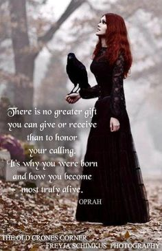 Honor Your Calling….The Witch Said What? Magick, Witchcraft, Witch Quotes, Gypsy Moon, White Witch, Practical Magic, Book Of Shadows, Old Things, Gothic